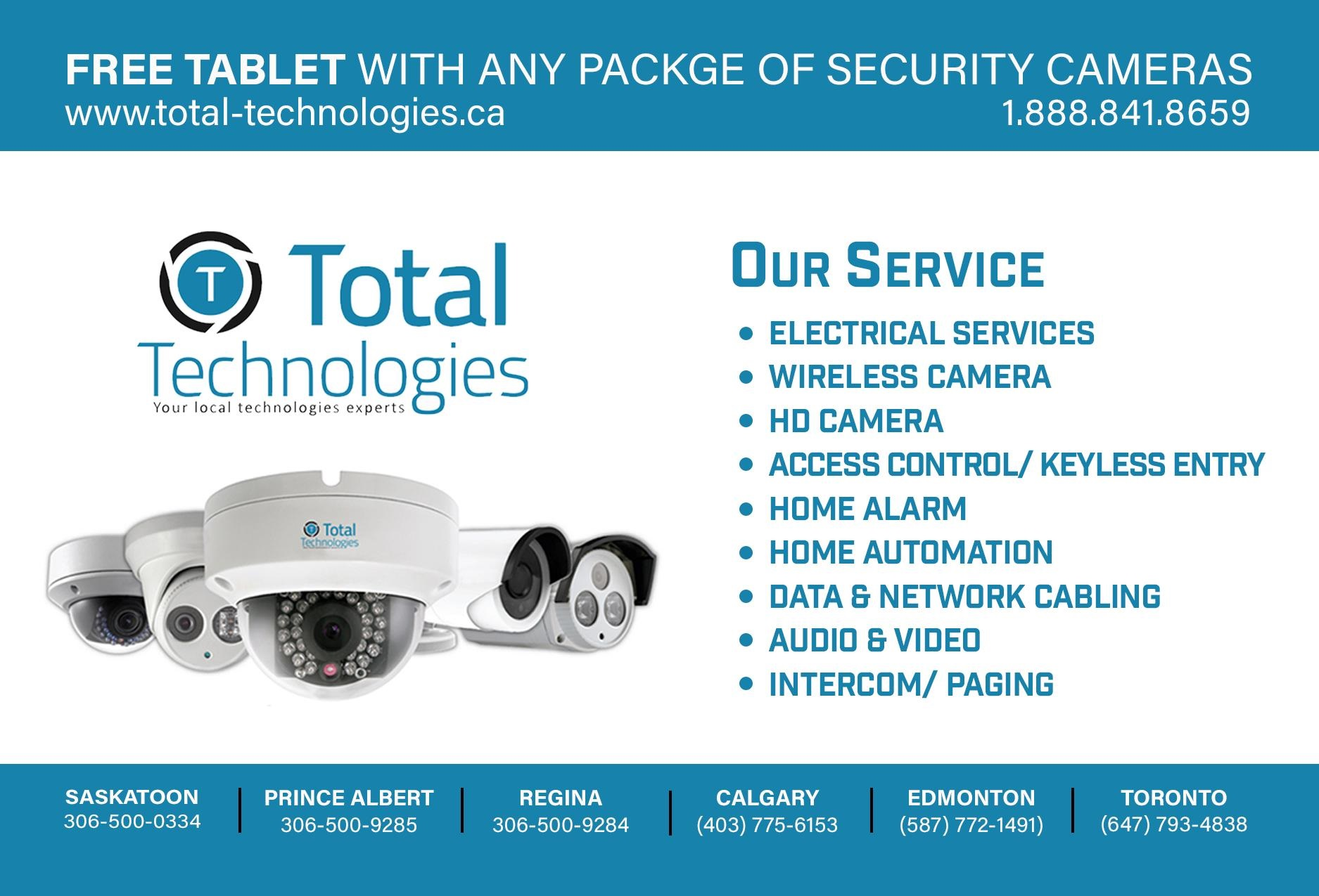 Total tecnologies ltd Should i get a security system